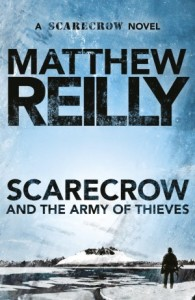matthew reilly and the army of thieves cover picture