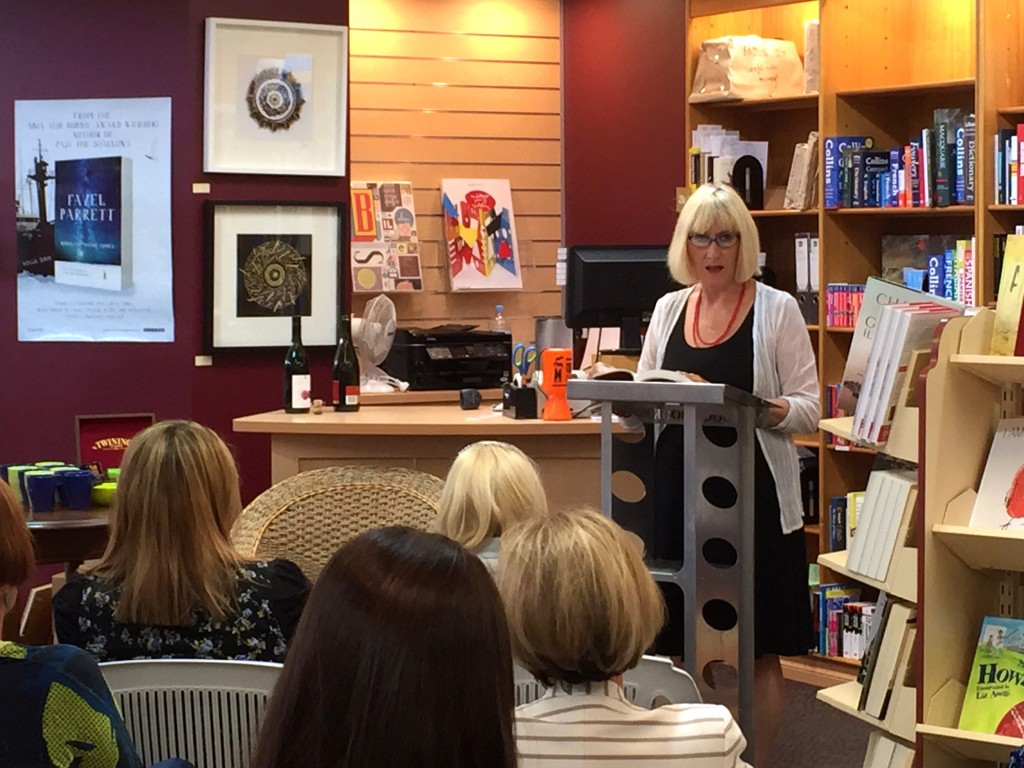 Rosemary Jackson reads from 'Athina and the Sixty Nine Calorie Burn'.