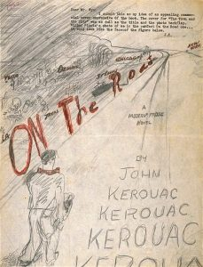 Kerouac's original cover design