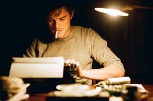 Sam Riley as Sal in the 2012 film of On the Road.